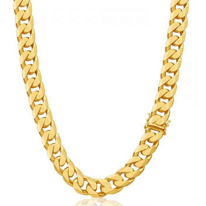 какие плетения золотых цепочек