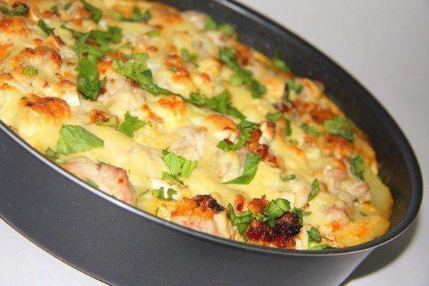 Картофель по-французски с фаршем: пошаговый рецепт с фото 8