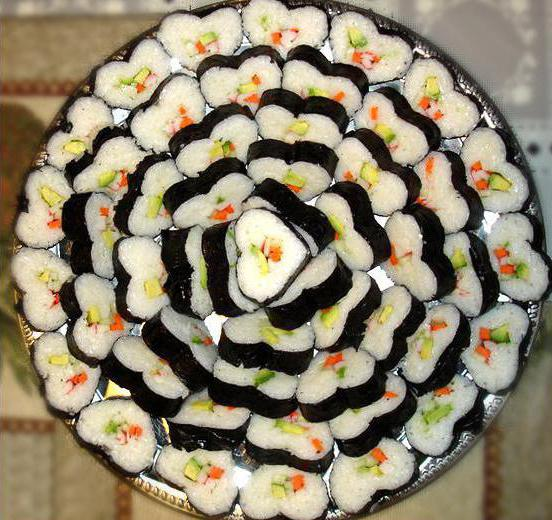 Как самому сделать суши