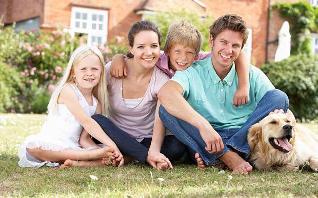характеристика семьи образец
