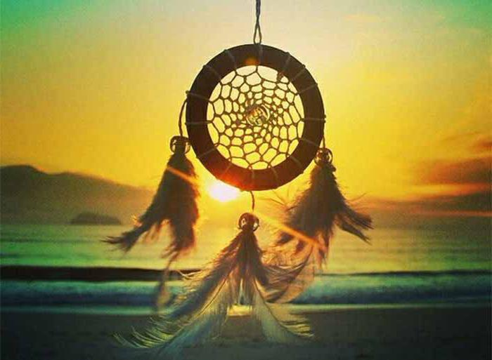 How to draw a dream catcher? Step by step instructions