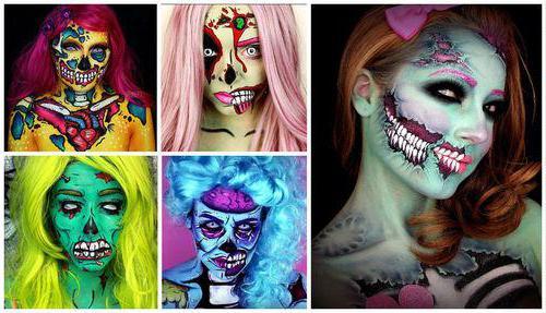 макияж в стиле поп арт пошагово