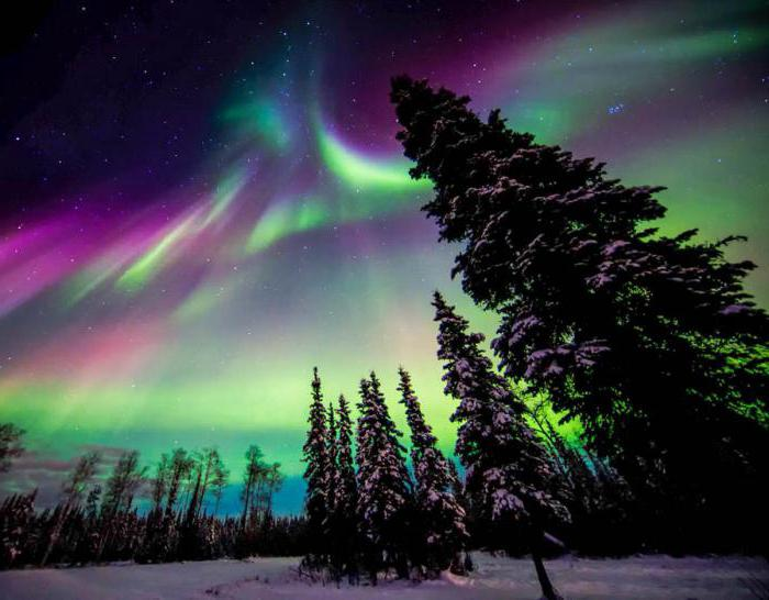 How to draw Northern lights create beautiful with your own hands