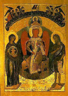 икона божией матери софия премудрость божия