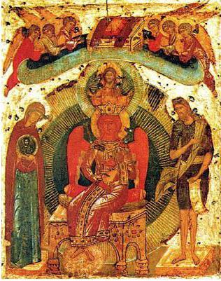 икона софия премудрость божия новгородская
