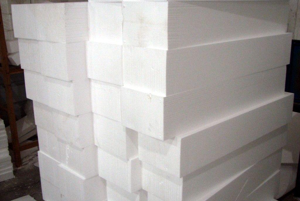 Пенопласт блоками