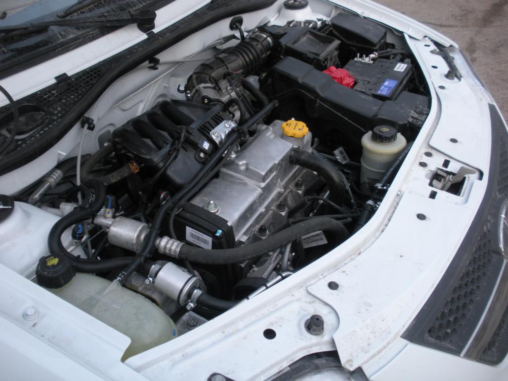 Двигатель в Lada Largus