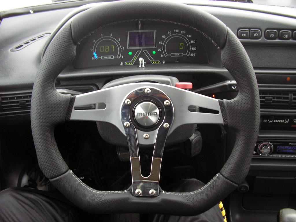 Тюнинг рулевого колеса ВАЗ-2114