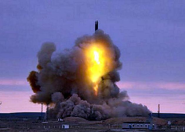 """Пуск ракеты """"Стилет"""" в Ясном"""