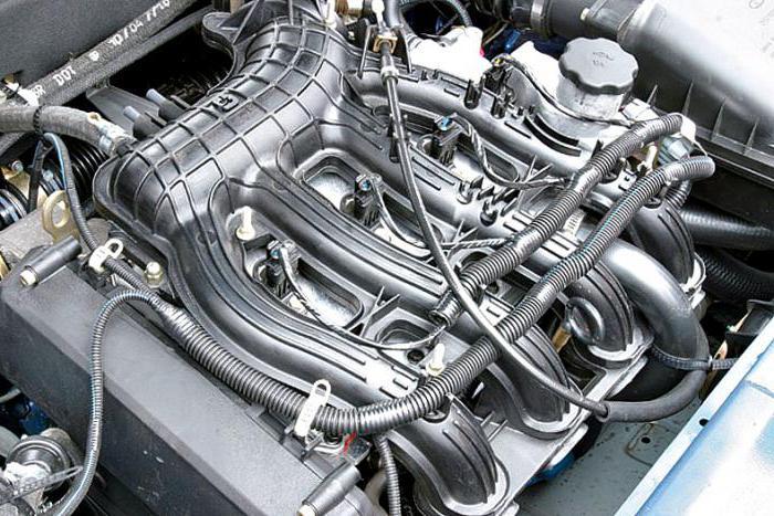 Характеристики двигателя 21124