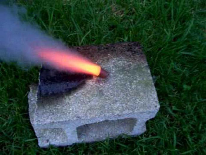 карамельное топливо с алюминием