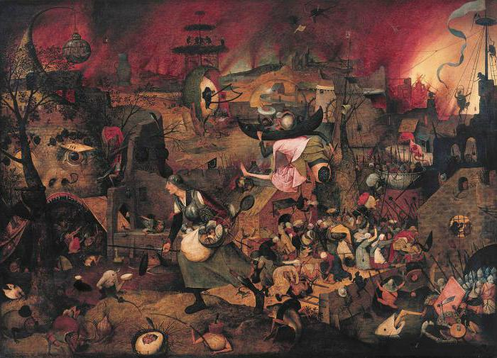 """Crazy Greta"" is a painting by Pieter Brueghel about the horrors of war"