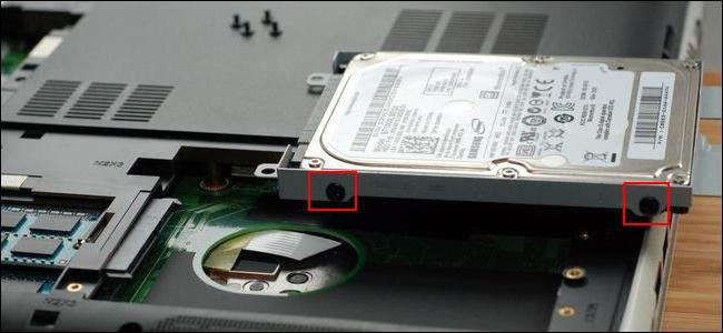 Ssd диск для ноутбука как установить