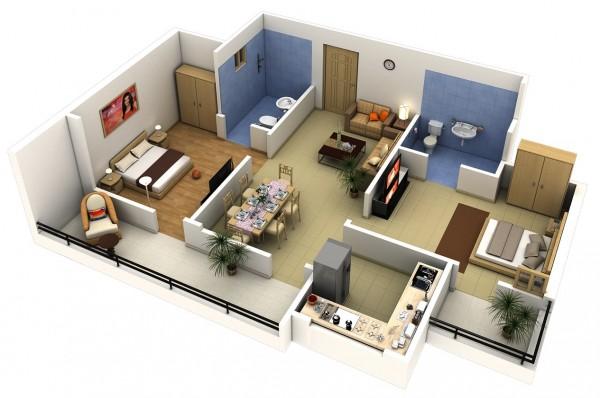 Раздел квартиры