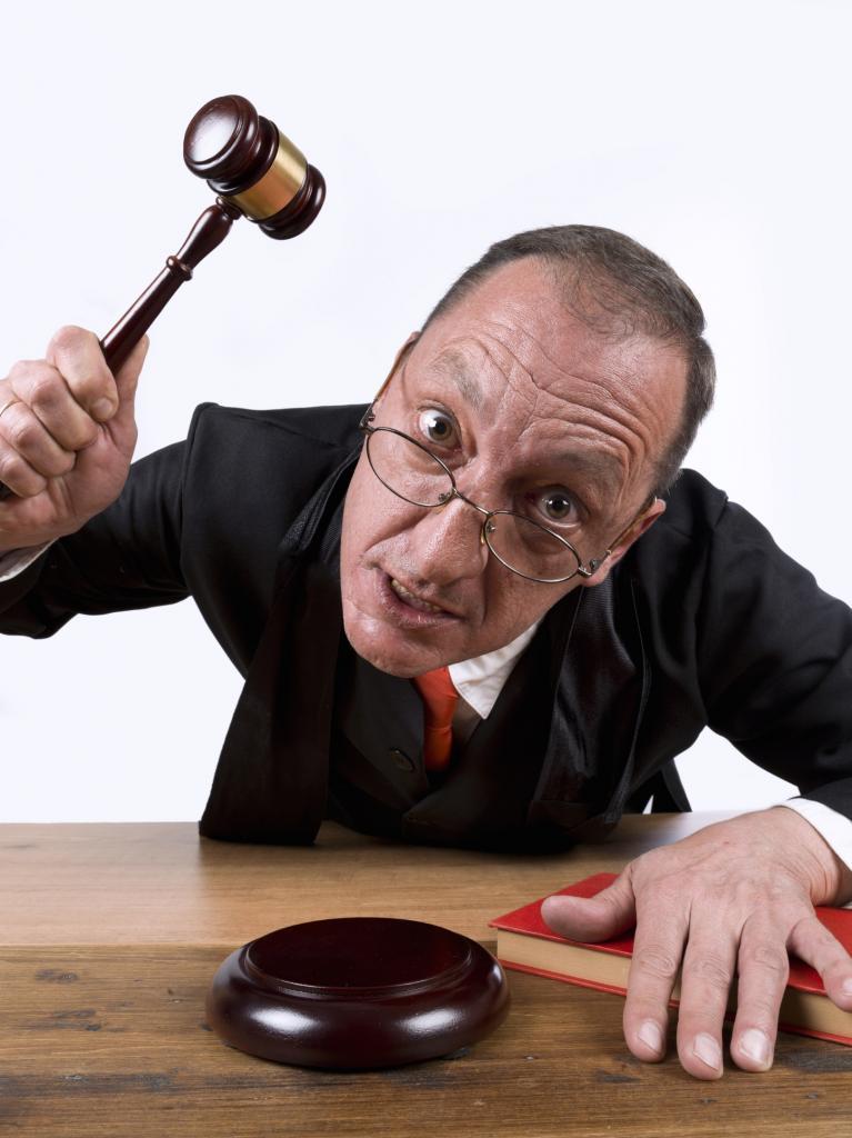 Противоправные действия судьи