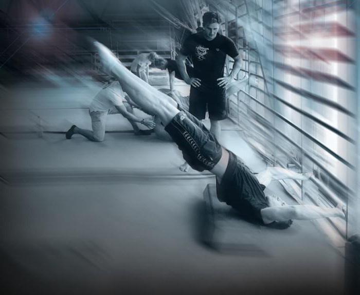 Комплекс силовой гимнастики