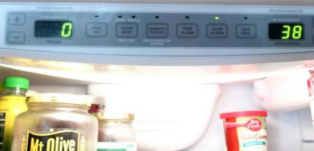 температура в морозилке холодильника