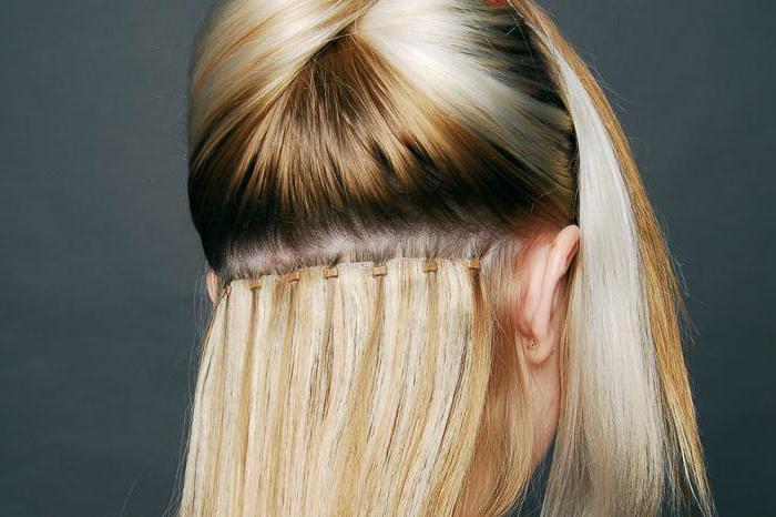 Нарощенные волосы сколько держится