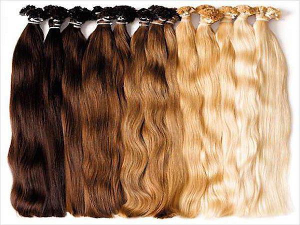 Нарощенные волосы сколько стоит