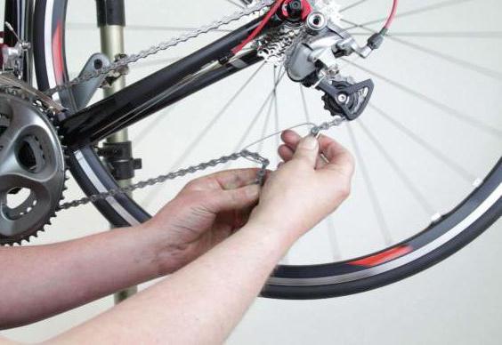 Как поменять цепь на велосипеде в домашних условиях 320