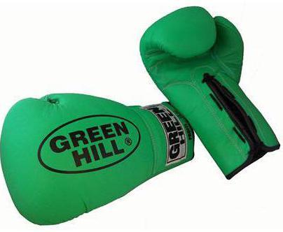 боксерские перчатки green hill tiger