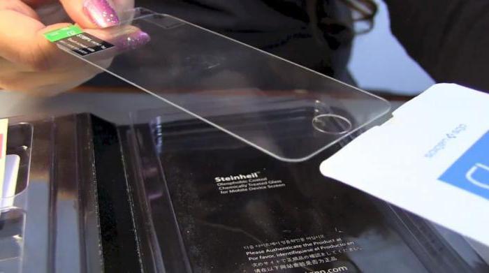 как снять защитное стекло с айфона 5