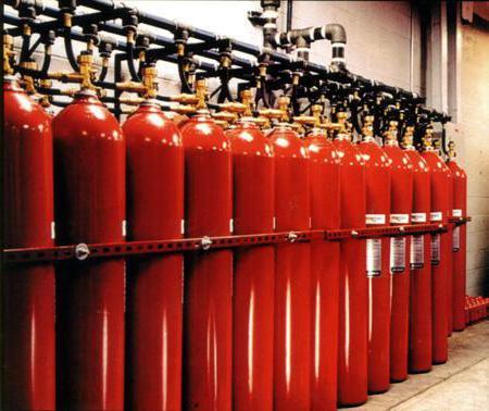 установка систем пожаротушения