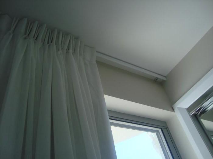 гардины для штор фото потолочные