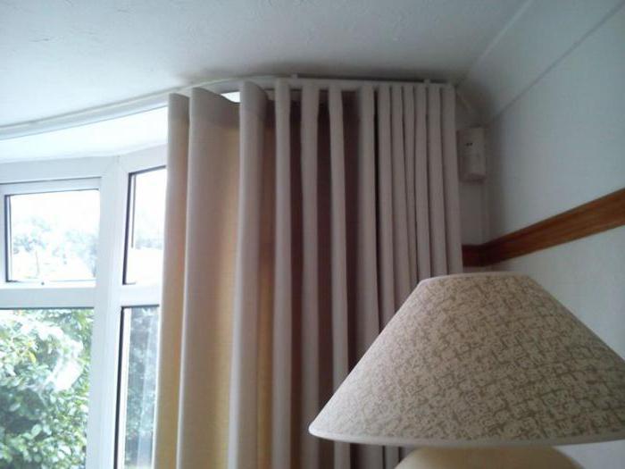 потолочные гардины шторы ламбрекеном