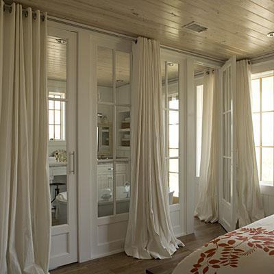 потолочные гардины для штор установка