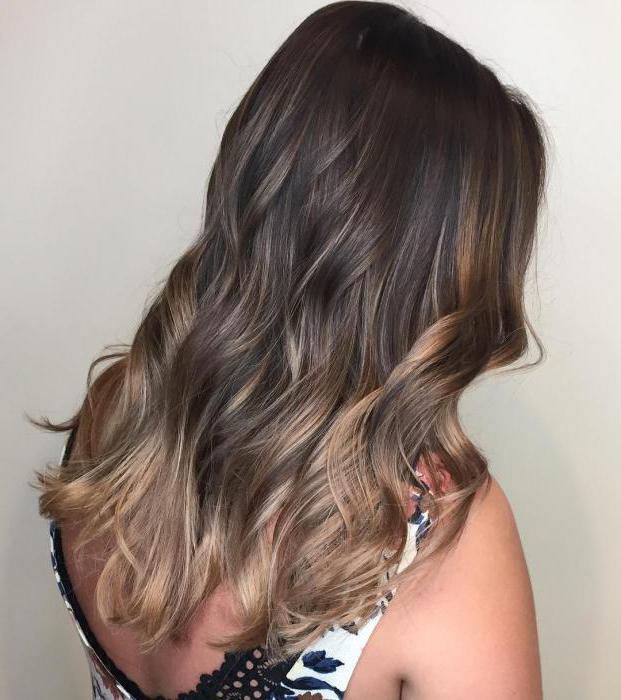 Черепаховое окрашивание волос: техника выполнения, фото