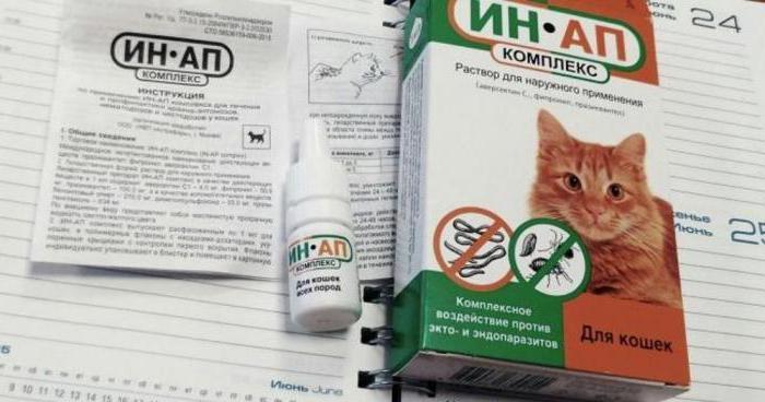 ин ап комплекс для кошек