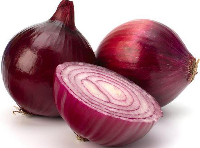 Фиолетовый лук название