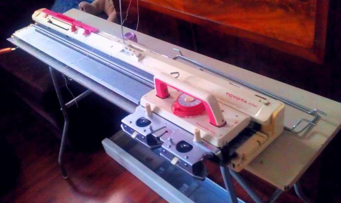 ручная машинка для вязания в домашних условиях