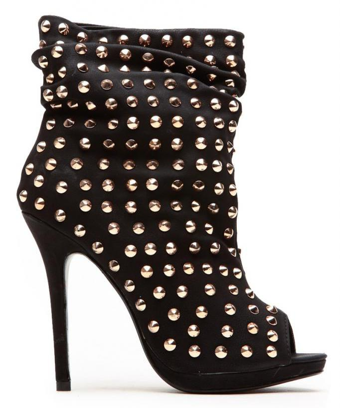 open toe summer ankle boots