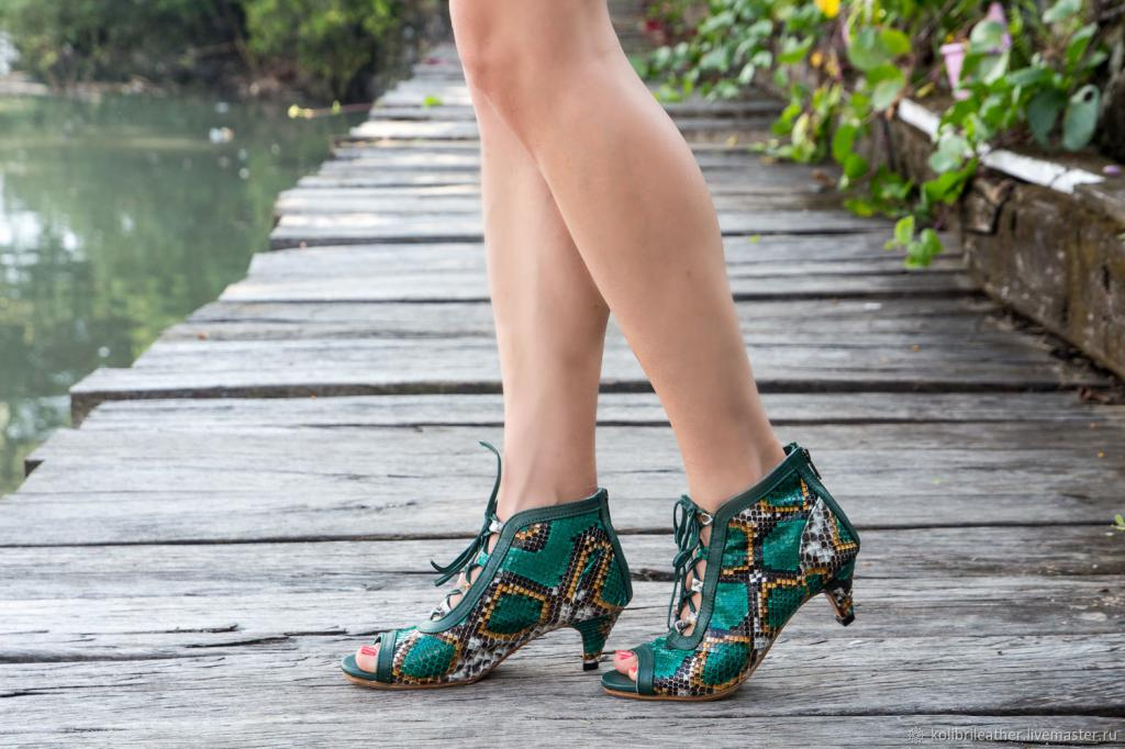 summer heeled ankle boots