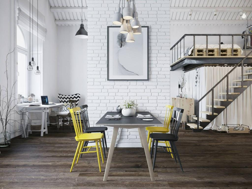 how to make a brick wall in loft style
