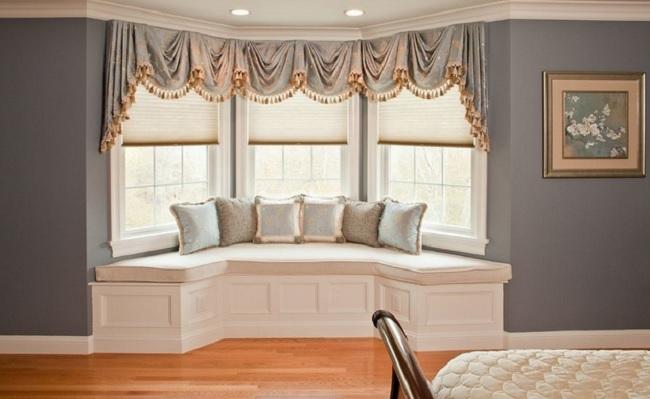 Дизайн комнаты с эркером: идеи, варианты и советы профессионалов
