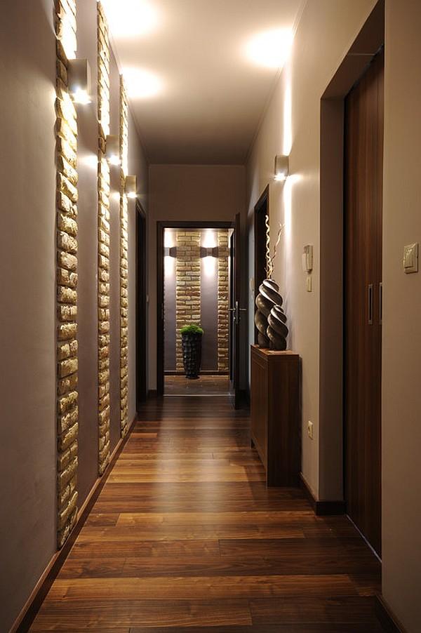 closet in a long corridor
