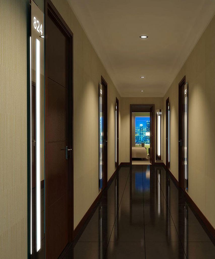 repair of a long corridor