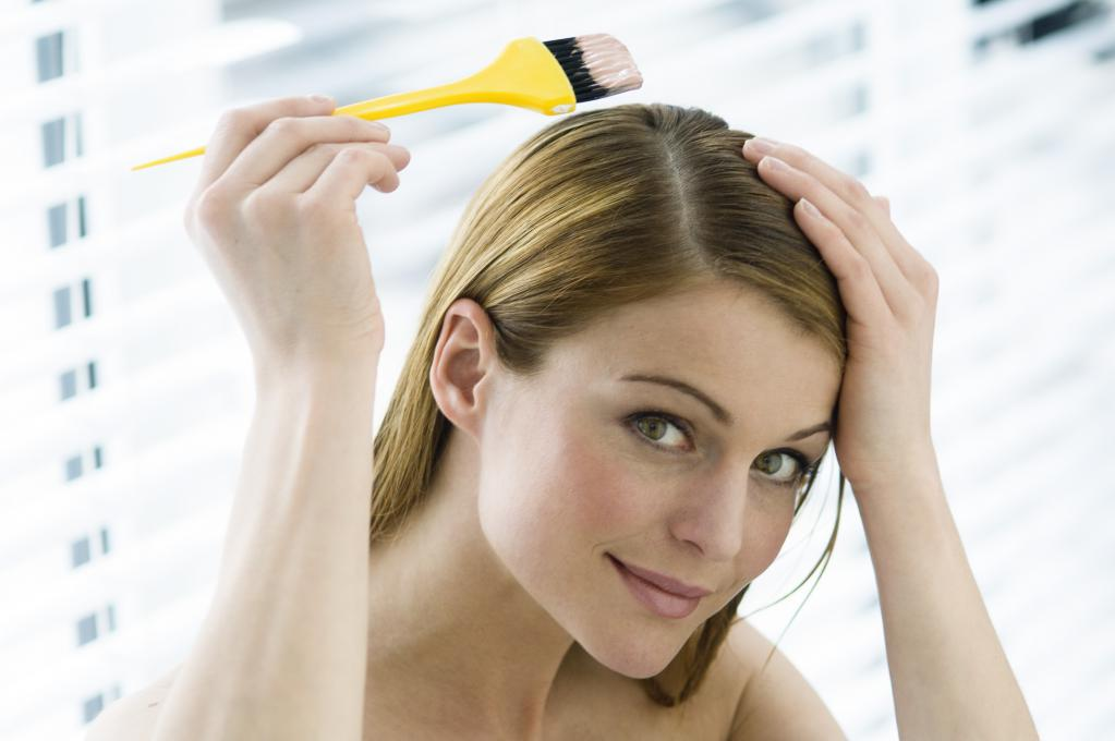 через сколько красить волосы после осветления