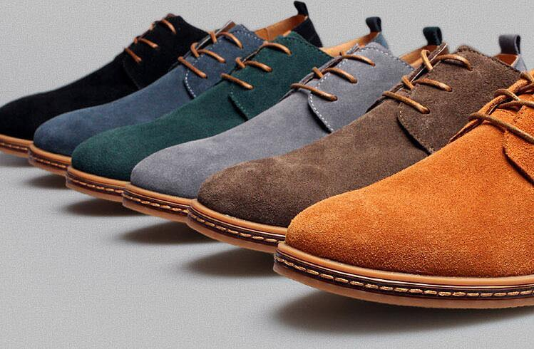 where to paint suede shoes