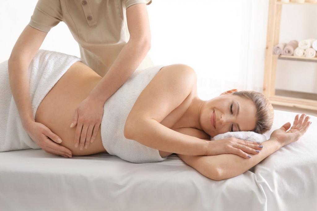можно ли делать массаж спины при беременности