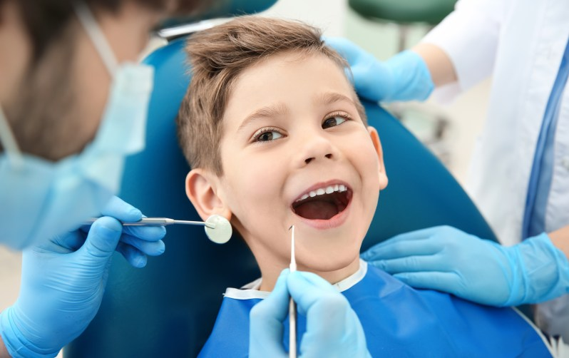 how to treat a tooth to a child 3 years old