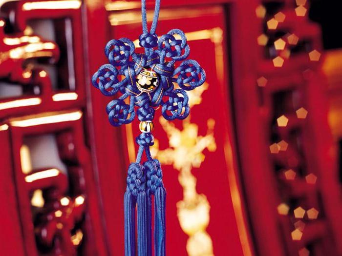 китайское плетение узлов