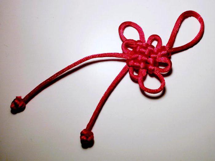 как завязать китайский узел
