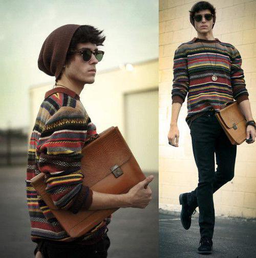 современный стиль одежды для мужчин