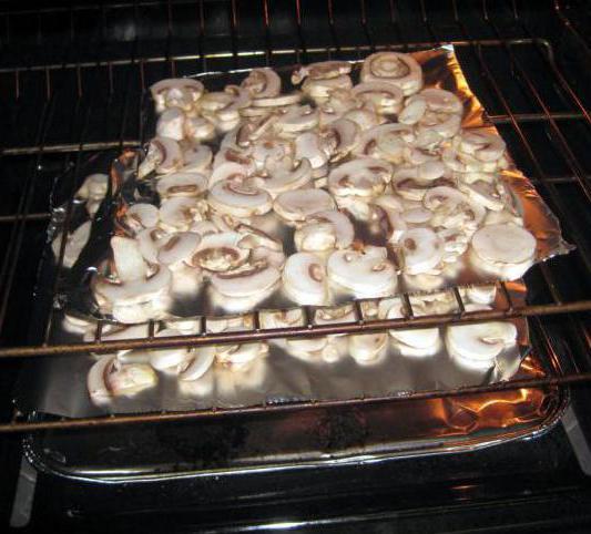 как сушить грибы в духовке газовой плиты фото