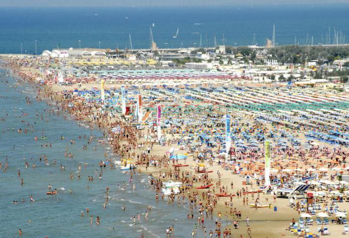 Пляж мирамаре римини