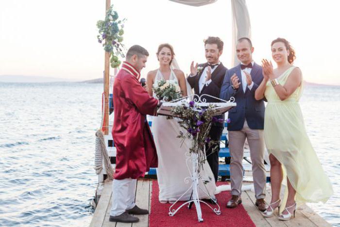 что дарят на свадьбу в турции
